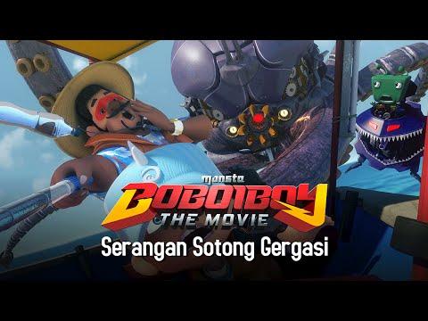 Klip BoBoiBoy The Movie: Serangan Sotong Gergasi!