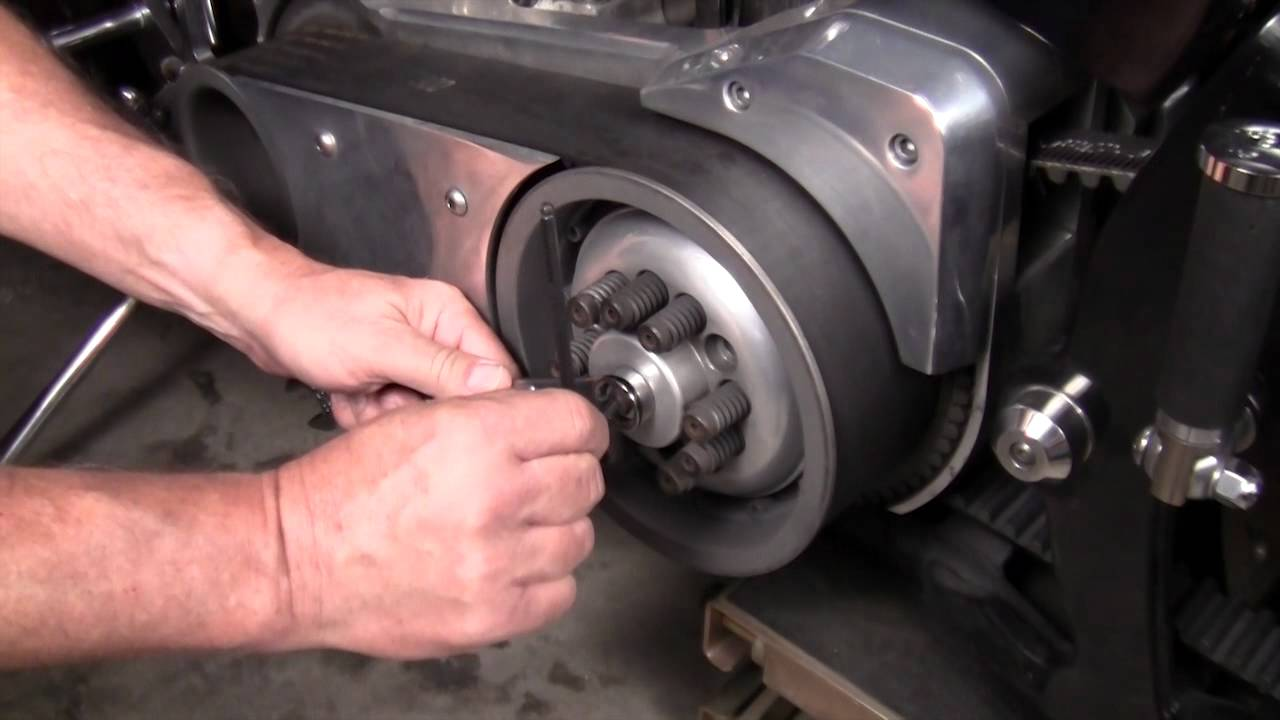 DIY BDL OpenBelt, Dry Clutch Adjustment by Gearhead, Inc  YouTube