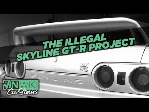 Why did I trade my nice 240 for an illegal Skyline?