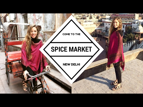 Travel Vlog, INDIA: Delhi 6: The Spice Market, and Kathak Dancing in Haveli Dharampura