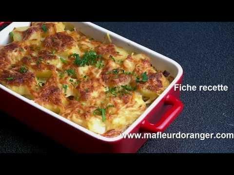 recette-de-gratin-poireaux-et-pommes-de-terre-/-potato-leek-gratin-recipe