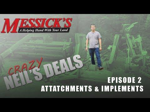Crazy Neil's Deals | Tractor Attachments & Implements. Ep2.
