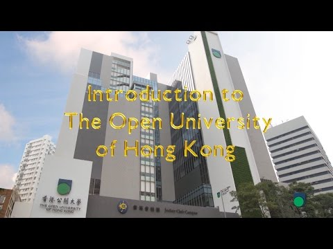 OUHK - Introduction to The Open University of Hong Kong