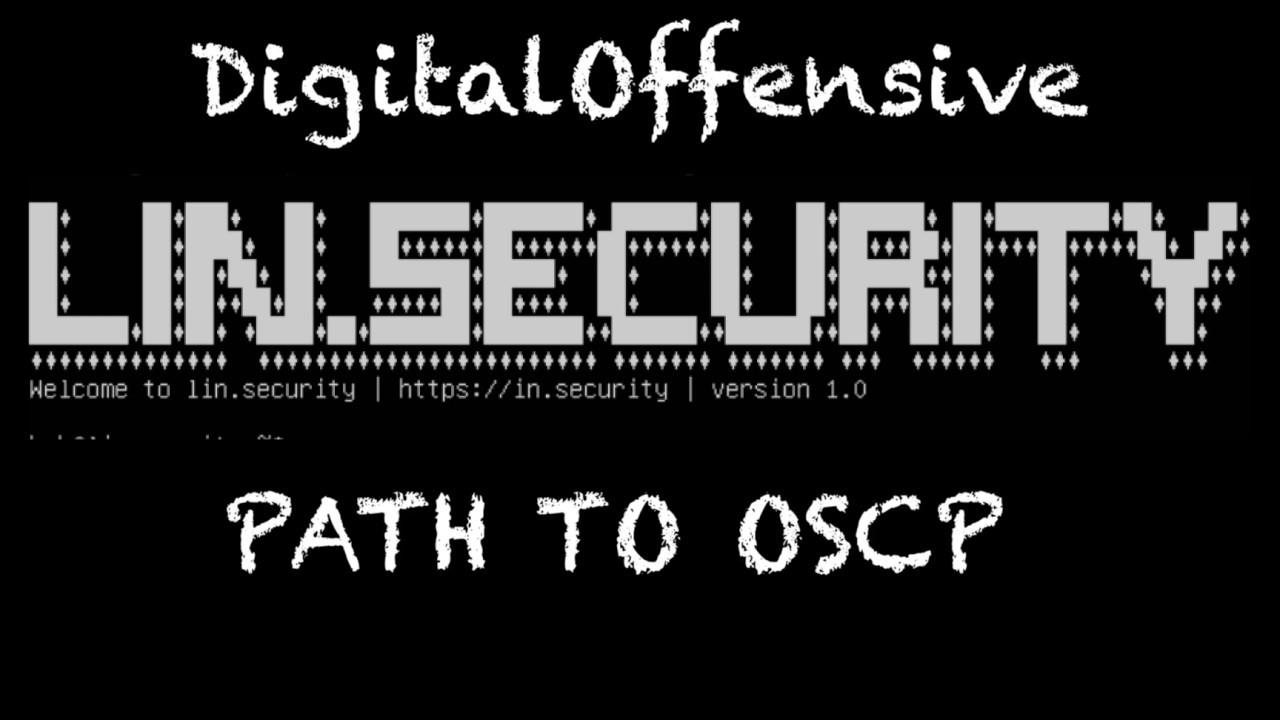 Digital Offensive » Blog Archive » Path to OSCP: Lin Security