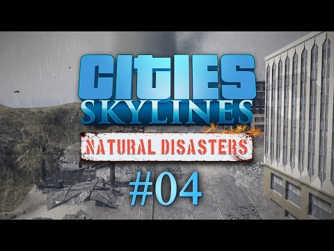 Cities Skyline Natural Disasters #04 TORNADO WARNING - Let's Play