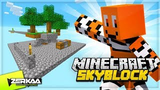 EXPANDING My Base In The Sky! (Minecraft Skyblock #2)