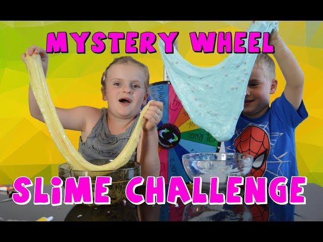 Koło fortuny - slime challenge/MYSTERY WHEEL OF SLIME CHALLENGE PL/PO POLSKU