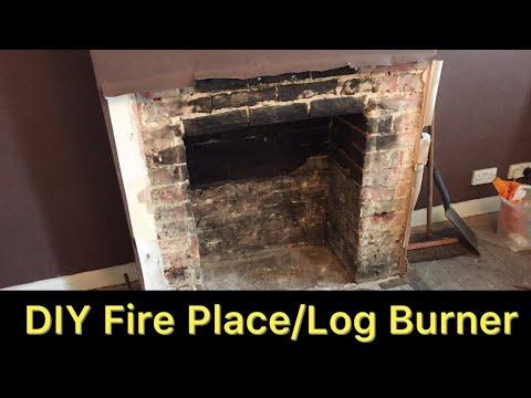 DIY - Fireplace / Log Burner Part 1 - Stovex