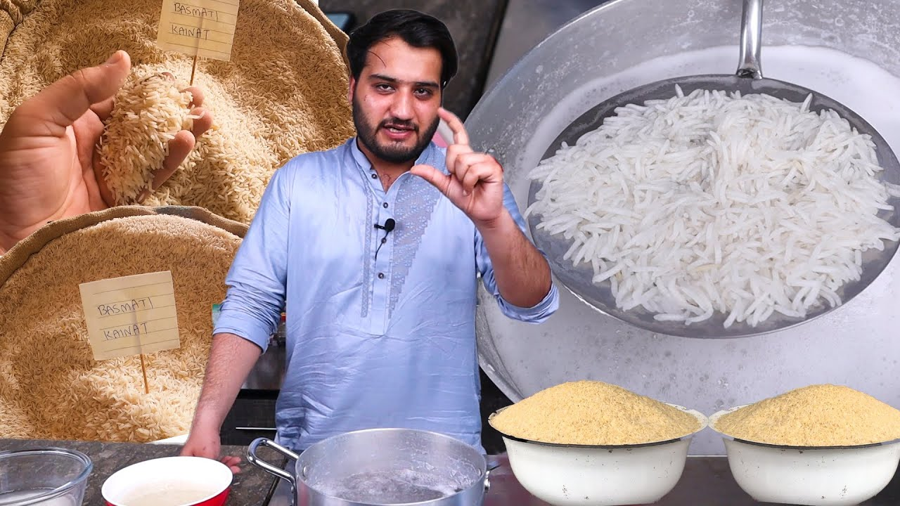 All about Rice || Basmati vs Sella? (How to Boil Perfect Rice)