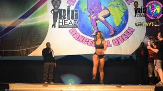 DHQ B-randi - International Dancehall Queen 2014 Competition