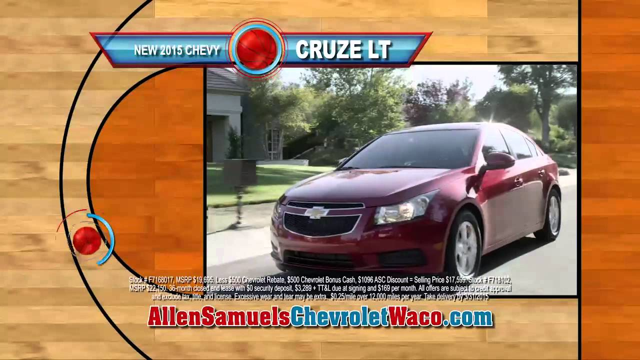 Markdown Madness Is Happening NOW At Allen Samuels Chevrolet Waco
