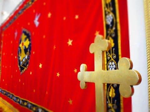 holy mass dukhrono of saint george at saint mary s jacobite syrian cathedral karakkunnam jacobite syrian church mass prayers songs    jacobite syrian church mass prayers songs
