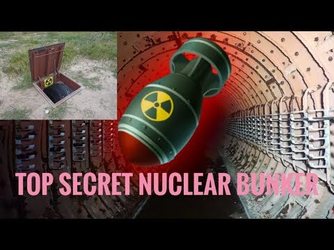 Exploring A Top Secret Nuclear Bunker
