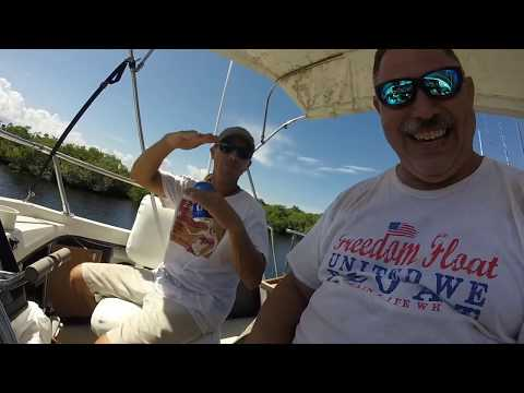 Boat trip Fort Pierce to Tampa Part 2