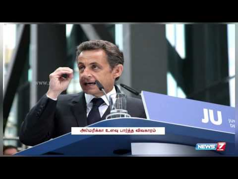 Obama reassures France after Wikileaks reveal NSA spying | World | News7 Tamil |