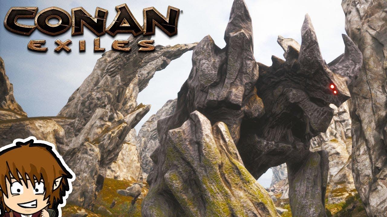 Conan Exiles Bosse