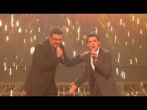 The X Factor 2009 - Joe & George Michael: Don't Let The Sun - Live Show 10 (itv.com/xfactor)