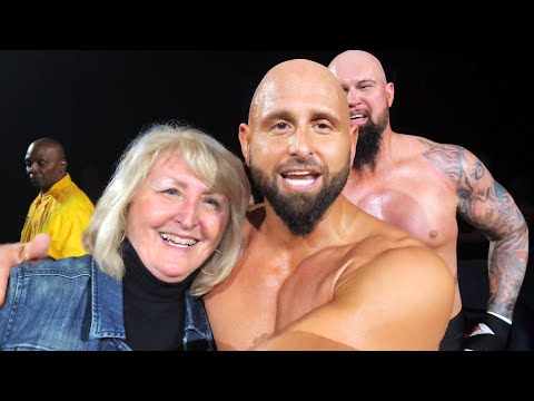 "Karl Anderson shares a ""too sweet"" moment with his mom"