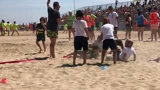 BEACH RUGBY  | 5 - 2 | MOGLIANO vs PIAZZOLA (B) | GIRONI | 16.06.18 | Under 8 LIGNANO