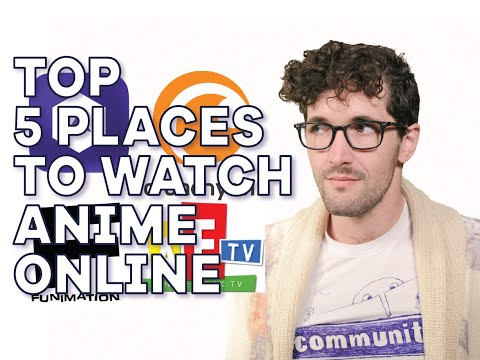 5 of the best places to watch anime online