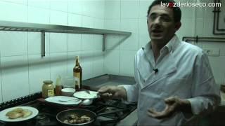 Chipirones al brandy, desde el Restaurante Santamaría