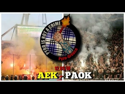AEK – PAOK, Greek Cup final, 12.05.18  //  Pyro-Greece
