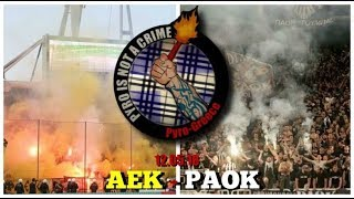 AEK - PAOK, Greek Cup final, 12.05.18  //  Pyro-Greece