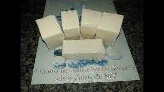 Aprenda a Fazer Sabão em Barra – Utilizando só Bicarbonato