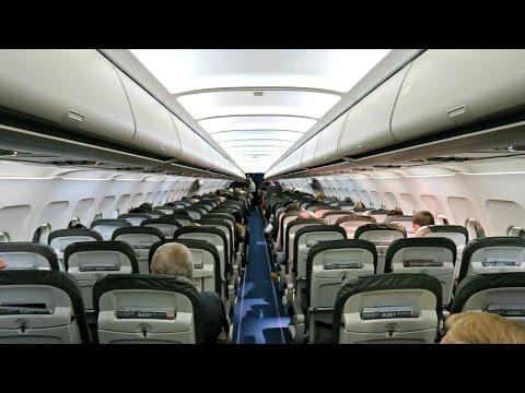 Lufthansa Flight Experience: LH854 Frankfurt to Helsinki