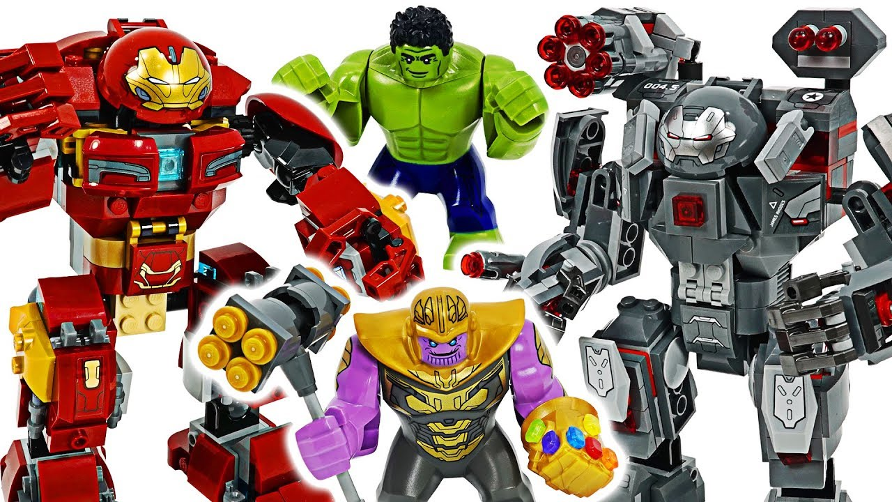 Lego Marvel Avengers 4 End Game War Machine Buster Hulk Buster