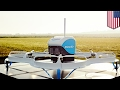 Amazon Prime Air to deliver packages via drone, then parachuting them to...