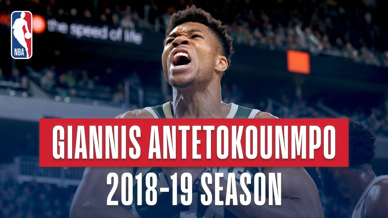 Giannis Antetokounmpo's Best Plays From the 2018-19 NBA ...