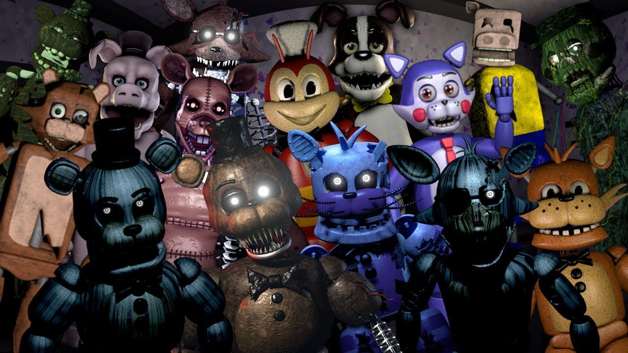 LOS 10 MEJORES FAN GAMES DE FNAF PARA ANDROID | THE 10 BEST FAN GAMES OF  FNAF FOR ANDROID (2018) |