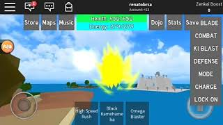 Em busca do BK blu kaioken ROBLOX (POTARA DRAGON BALL RAGE