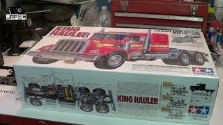 Jrp Rc - Tamiya King Hauler 6x6 Build Pt.1 Unboxing