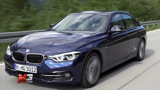 New BMW serie 3 sport line 2015 - first test drive only sound