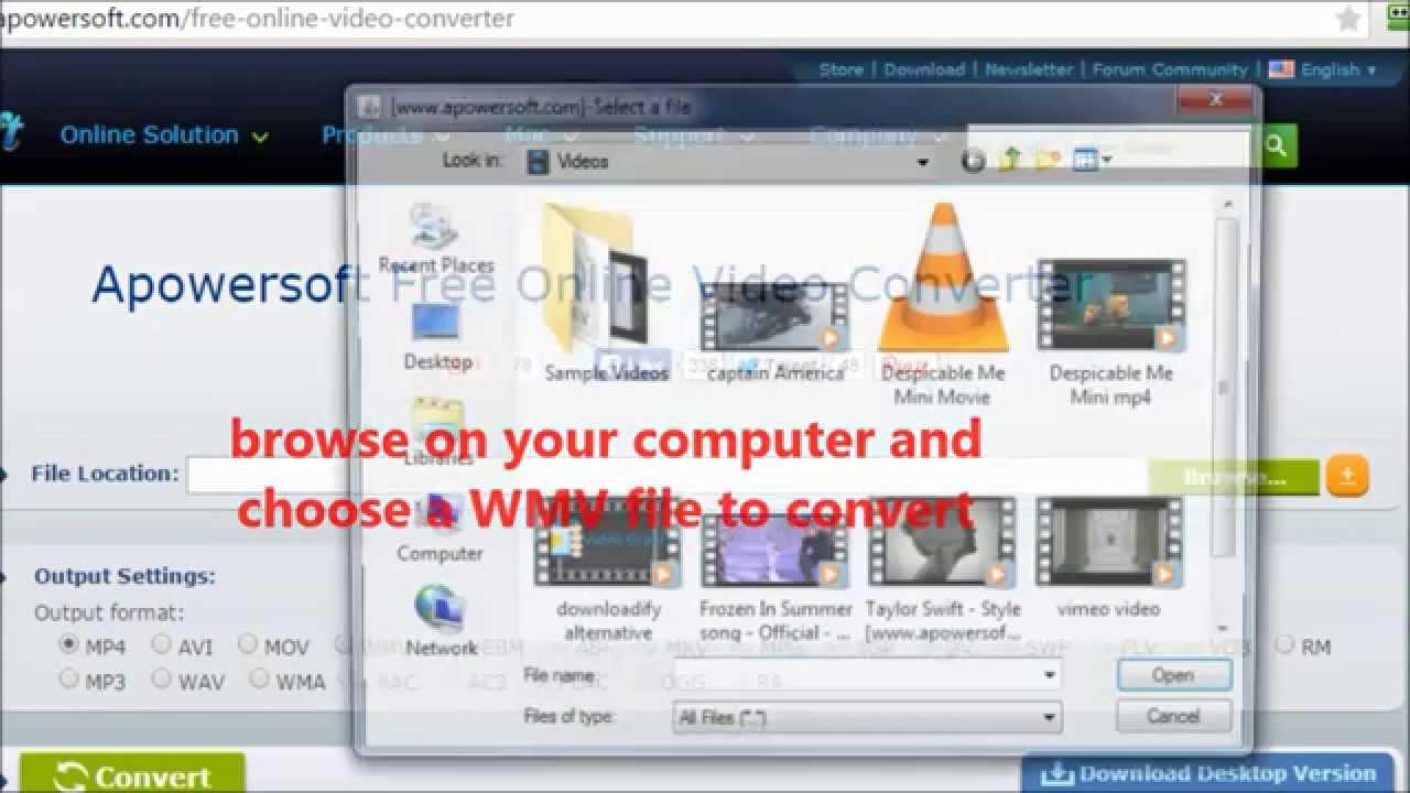 Convert Wmv To Mp4 Youtube Free Downloadbackstage