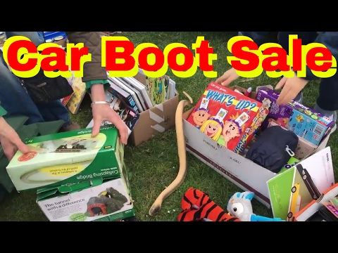 Car boot sale footage  Join me as I hunt for treasures at carboot sales