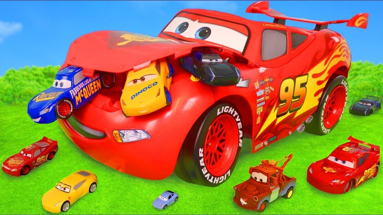 Disney Cars - Lightning McQueen oyuncak- Çocuk Oyuncakları - Cars toys for kids
