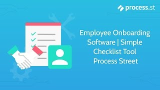 Http://process.st - create a free account process street is simple tool for employee onboarding. it built with the latest technology making powerful ...