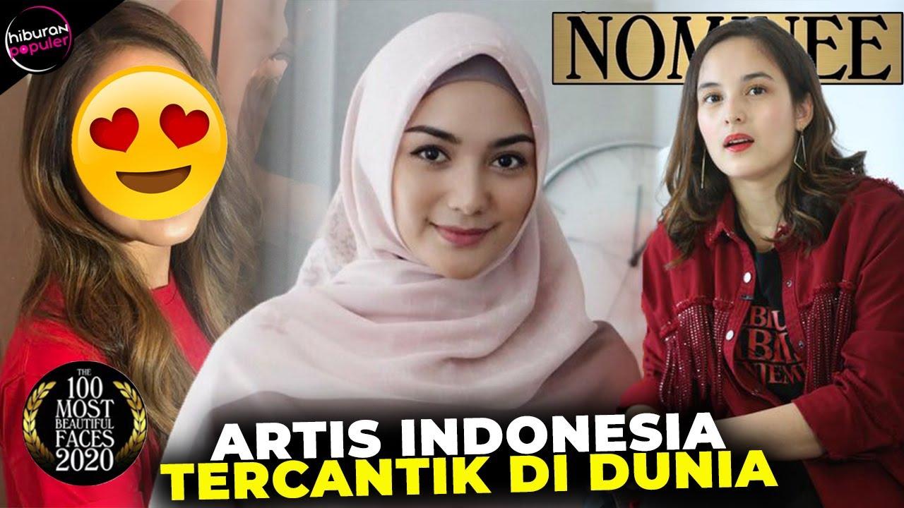 Gak Bakal Nyangka Ini 6 Artis Indonesia Yang Masuk Nominasi 100 Wanita Tercantik Dunia 2020 Youtube