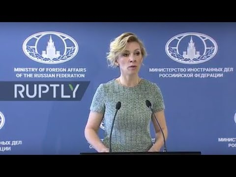 LIVE: Russian FM spokesperson Zakharova holds press briefing in Vladivostok