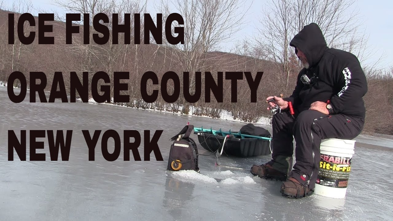 2017 ice fishing season orange county new york 12 19 2016