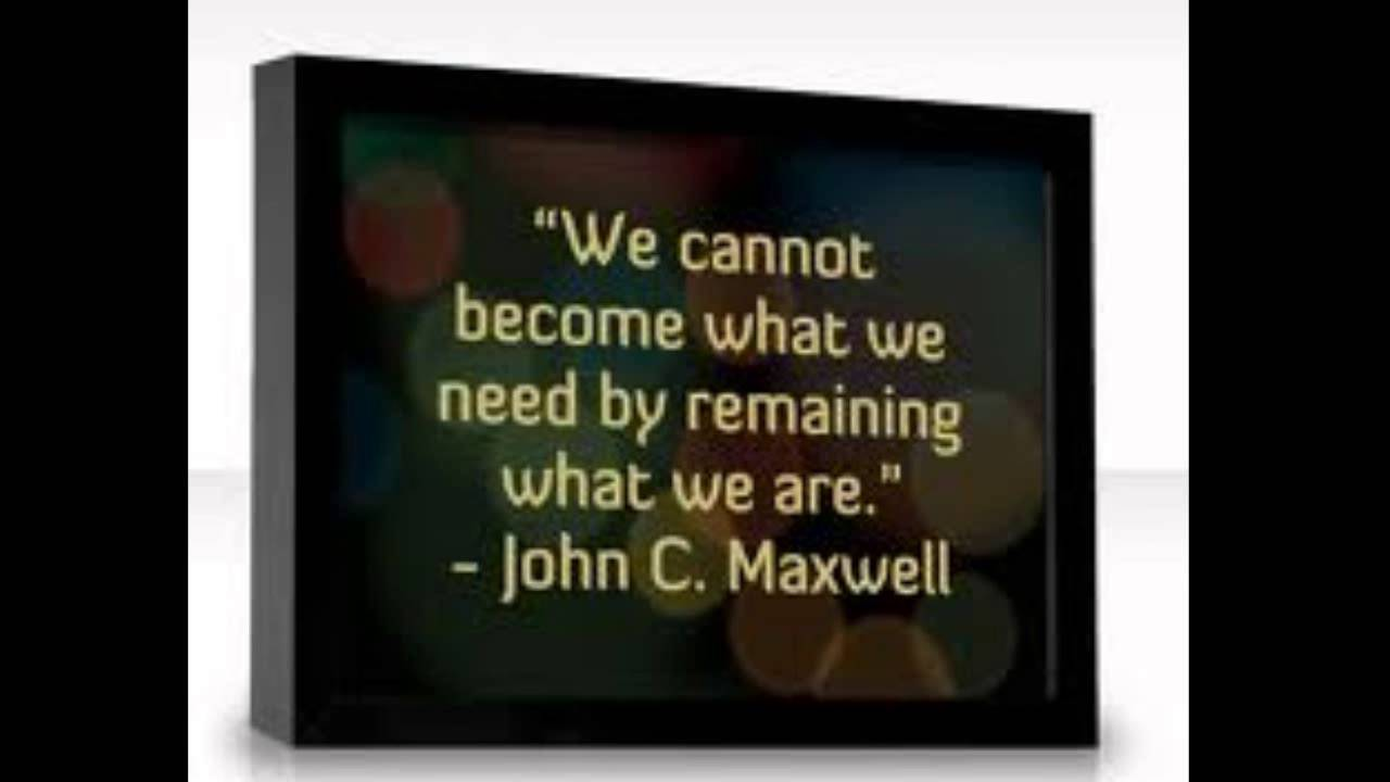 Top 10 Quotes Of John C Maxwell Youtube