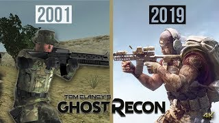 Evolution of Ghost Recon Games