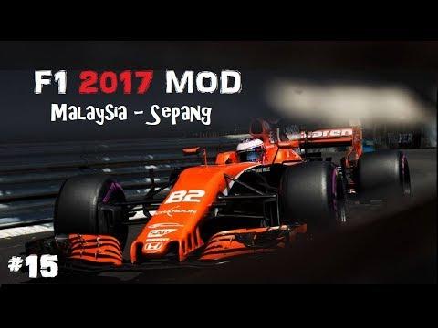 F1 2017 MOD // R15: MALAYSIA-SEPANG // MCLAREN-HONDA