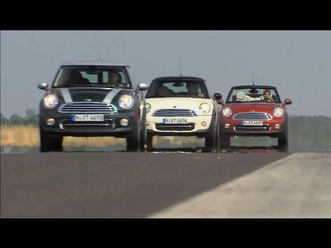 Updated Mini Cooper Family D Convertible Clubman