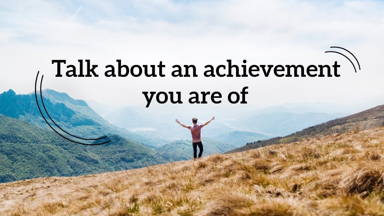10 personal achievements examples
