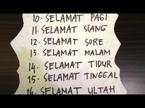 Learn Indonesian (Belajar Bahasa Indonesia) Daily Phrases # 1