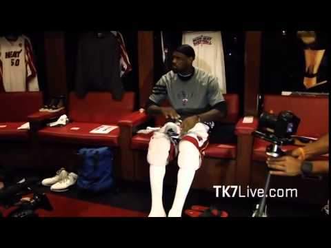 LEBRON JAMES RARE LOCKER ROOM FOOTAGE - 2012 NBA FINALS GAME 5 - PRE GAME ROUTINE
